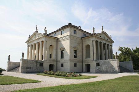 Villa Almerico-Capra, also known as Villa La Rotonda, by Andrea Palladio