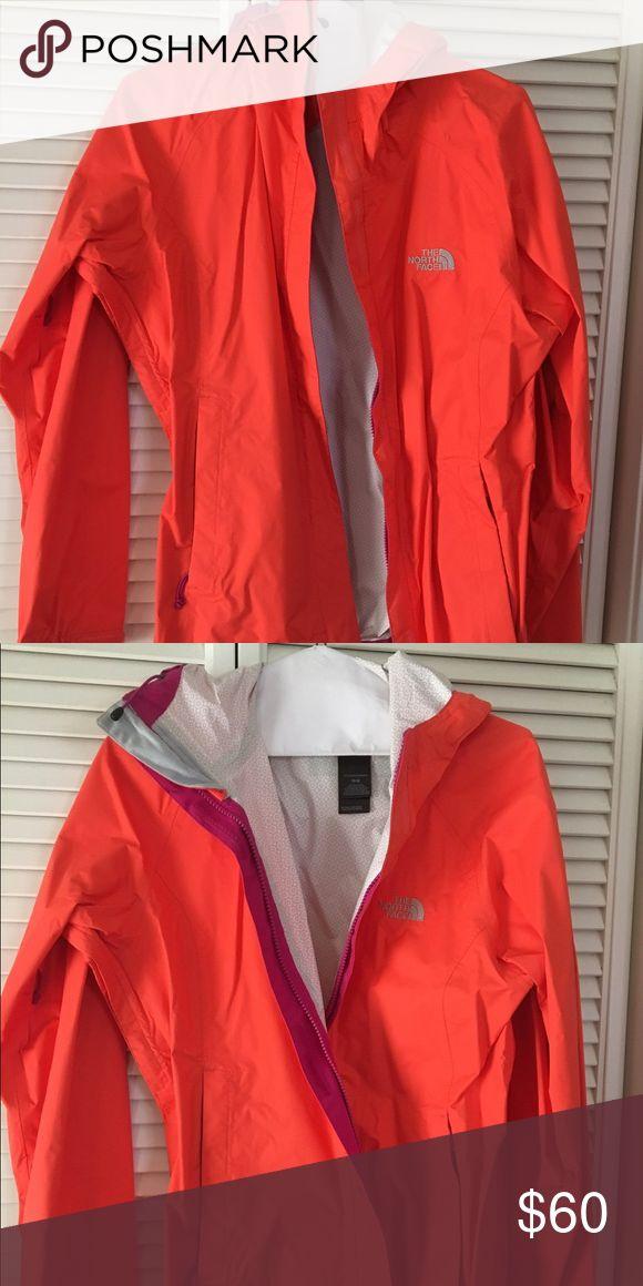 Women's North Face Windbreaker Jacket Orange north face jacket. Never worn. The North Face Jackets & Coats