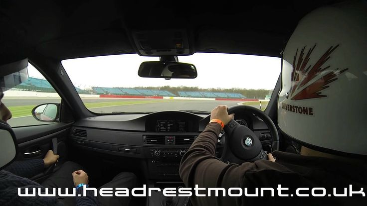 E92 bmw m3 flat out down hanger straight at silverstone filmed using headrest mount www - Hangar straight silverstone ...
