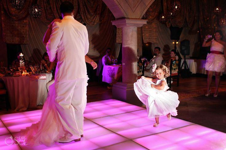 kid friendly wedding dance floor (on the Marrygrams blog)