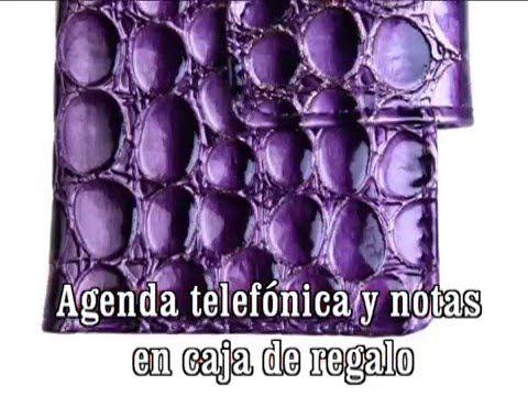 Agenda telefonica y notas. Regalos España - YouTube