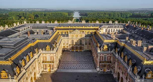 Bienvenue au château de Versailles - Carte interactive
