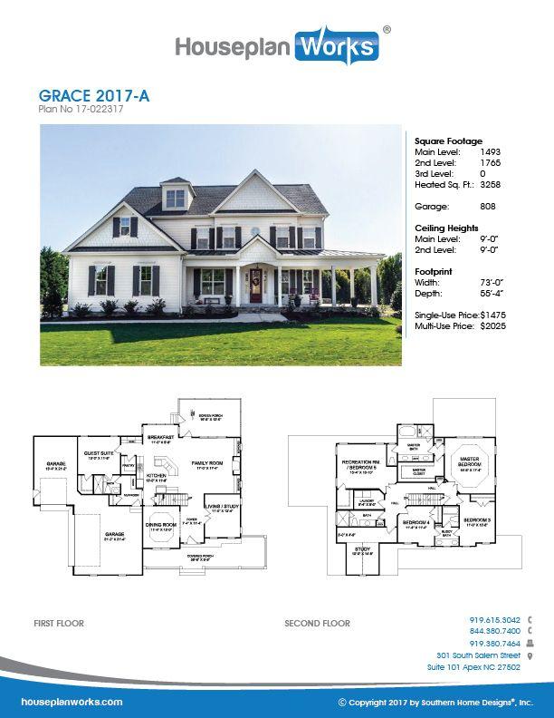 Grace 2017 A House Plans House Floor Plans Floor Plans