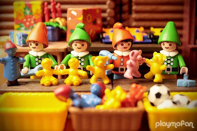 Playmobil Santa's workshop.