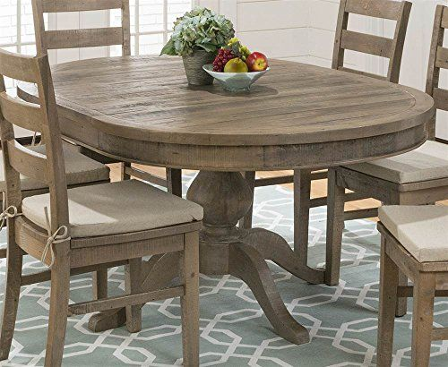 Round To Oval Dining Table In Brown. Oval Dining TablesKitchen TablesModern Cottage  StyleFurniture ...