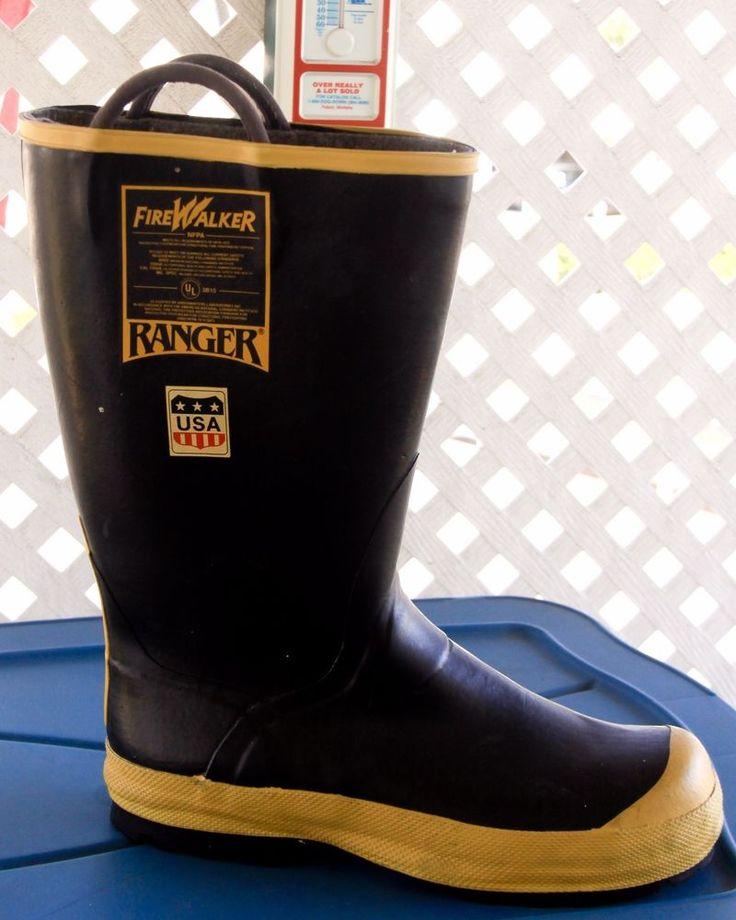 Single Firefighter Boot  Mens Size 14 Medium  FireWalker Steel Toe Ranger #FireWalkerRanger