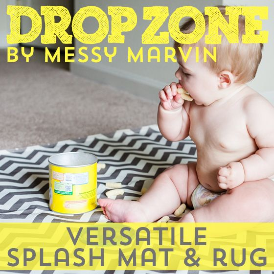 Daily Mom » Drop Zone by Messy Marvin: Versatile Splash Mat & Rug