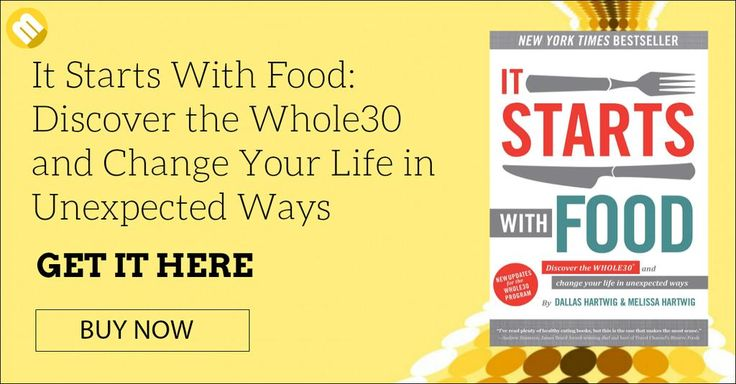 Its Start With Food is all about the Whole30 diet which is created to effectively reset the body's nutrition to improve sleep, lose weight, and increase energy levels. Dallas and Melissa, the duo authors of the book teamed up to outline the theories and principles that are behind the Whole30 diet.