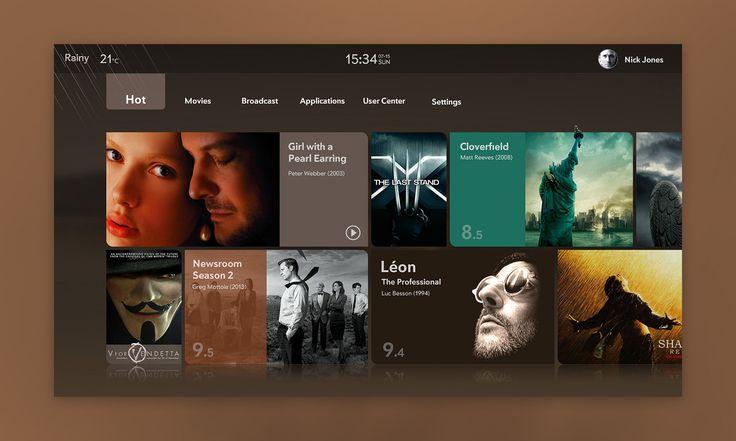 Dribbble - TV UI