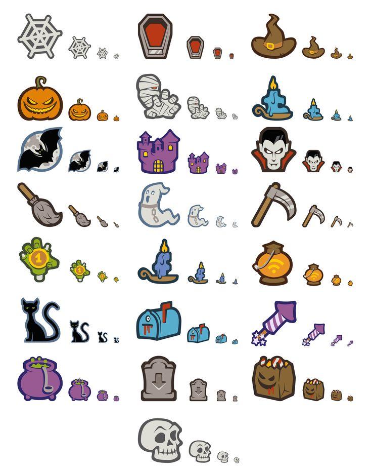 Free Halloween Icon Set (22 PNG Icons, 32×32px – 512×512px) | Smashing Magazine