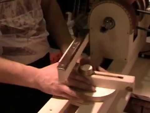 Токарный станок по дереву своими руками. Lathe for wood with his hands - YouTube