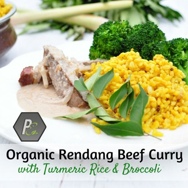 Looking for a recovery meal after training? Our Organic Rendang Beef Curry with Turmeric Rice & Broccoli is perfect for this. The high carbohydrate content will help you bounce back after a training session. #Highprotein, #dairyfree #glutenfree #highfiber #goodforyourheart and #organic, this meal is delicious and #healthy. It is also great as a lunch option that will fuel you up for the hours to come on a busy working schedule!