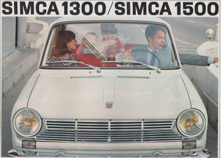 simca 1300 1500 1963 1975 cars i like pinterest. Black Bedroom Furniture Sets. Home Design Ideas