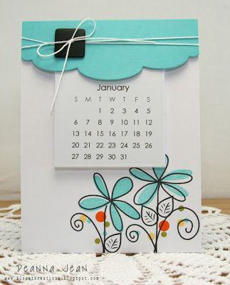Kloset Kreations many calendar ideas