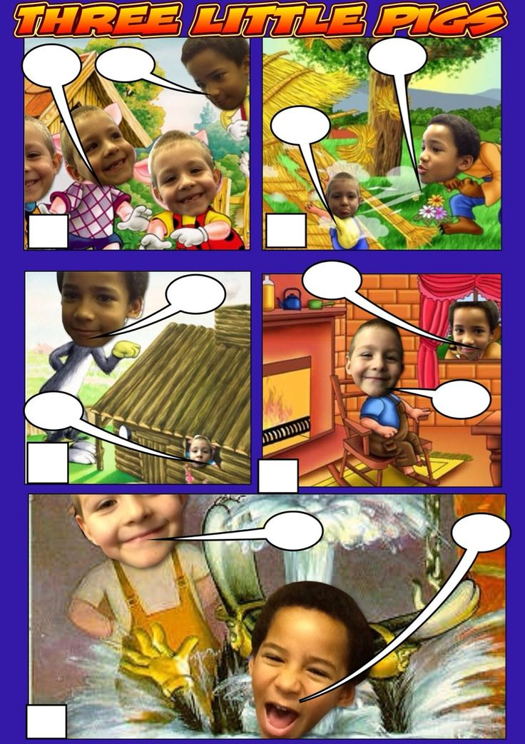 App Smashing: Comic Life, Stackr and Thinglink Three little pigs interactive comic by Davyhulme Primary