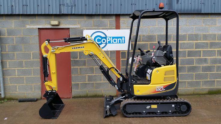 Brand New Yanmar VIO17 1.7Ton Mini Excavator Digger 2017 £15500 + v