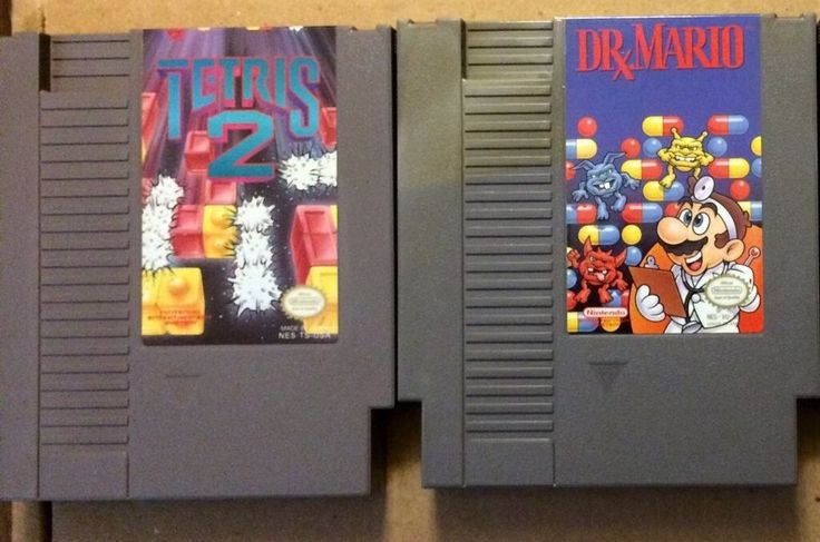 NINTENDO (NES)Games*Dr Mario And Tetris 2*