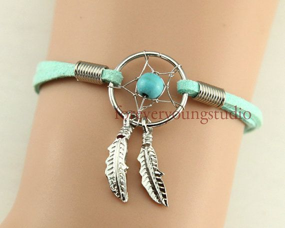 Dream catcherDream catcher bracelet Feather by foreveryoungstudio, $2.99