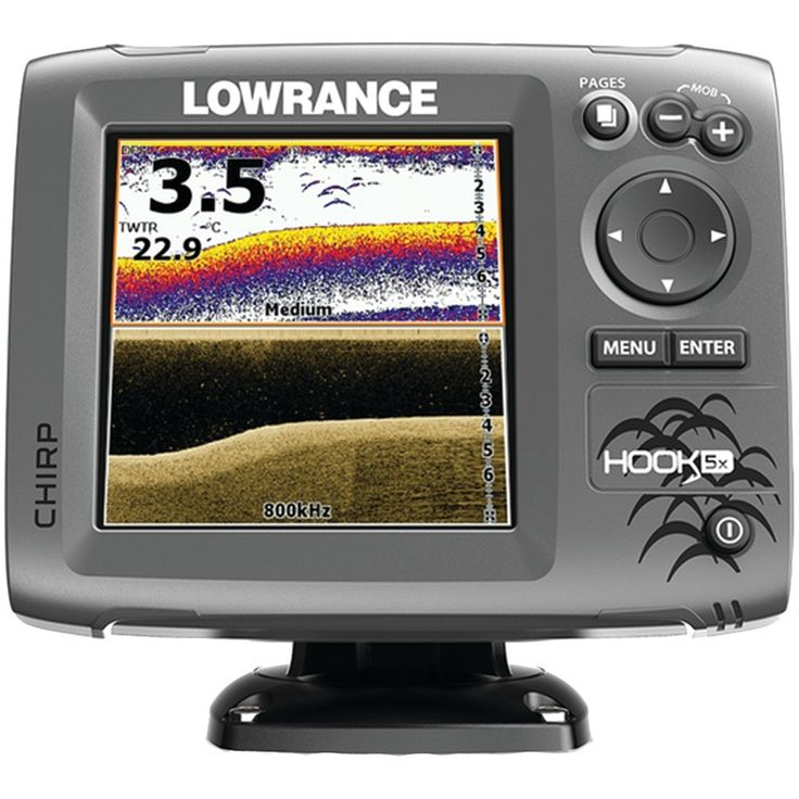 LOWRANCE 00012653001 Hook5x Mid/High/DownScan(TM