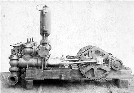 The Longford water pump