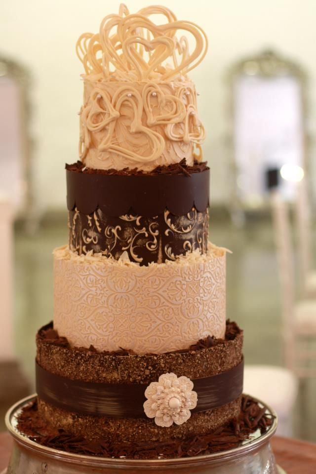 chocolate wedding cakes recipe wedding cake crafted from lindt white and 12797