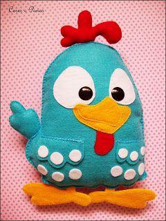 cores e panos: É a galinha pintadinha ♫
