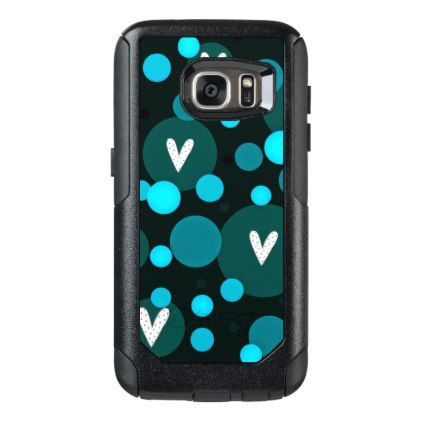 #Mod-Hearts-Blue-APPLE-SAMSUNG OtterBox Samsung Galaxy S7 Case - #birthday #gifts #giftideas #present #party