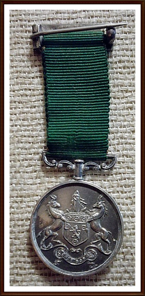 Duke of Edinburgh's Own Volunteer Rifles Silver Miniature Shooting Medal