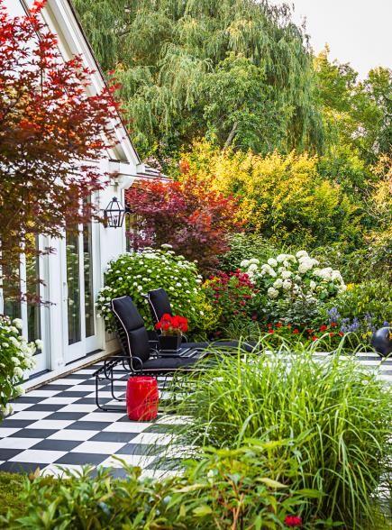466 best images about garden ideas garden design on for Checkerboard garden designs