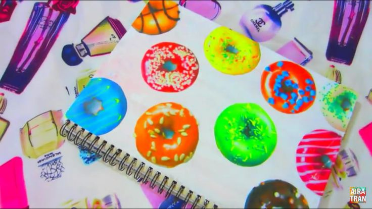 Did tumblr donut notebook