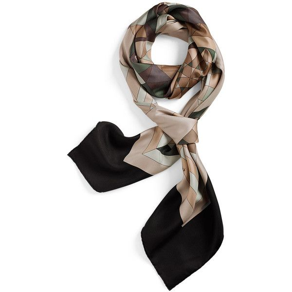Scarves Hermès Washed Silk (22 420 UAH) ❤ liked on Polyvore featuring accessories, scarves, hermes, sciarpe, аксессуары, pure silk scarves, silk scarves, silk shawl, shawl scarves and hermes scarves