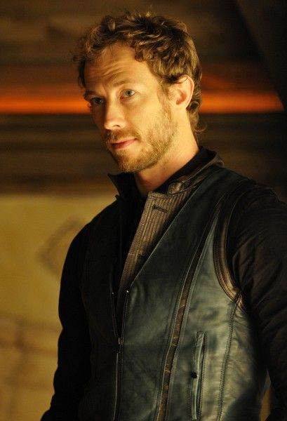 Interview with our favorite wolf cop, Dyson, played by Kris Holden-Ried.  #lost, #syfy,  #television