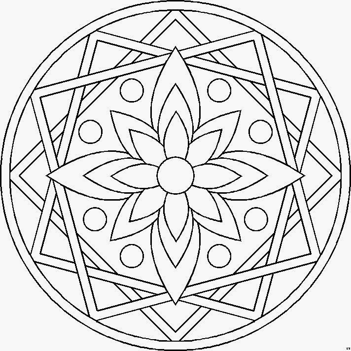 25 Unique Mandalas Faciles Ideas On Pinterest