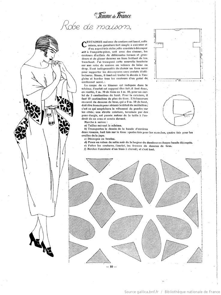 Les Modes de la femme de France 1919/10                                                                                                                                                                                 Plus
