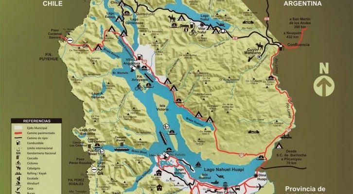 Mapas y Planos de Bariloche | Bariloche.Org