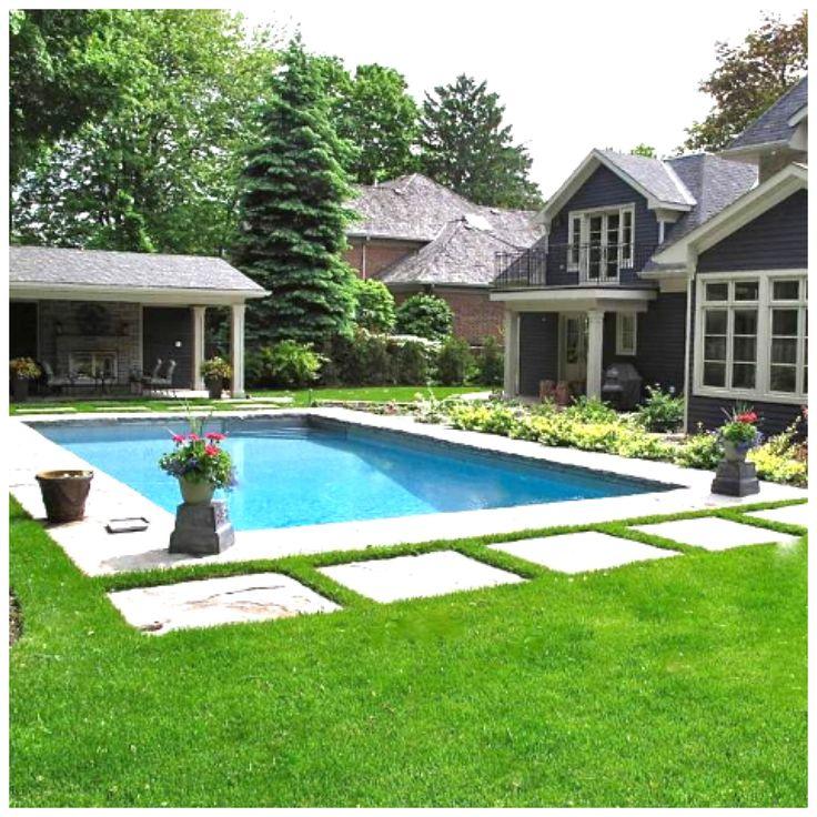 Best 20 Rectangle Pool ideas on Pinterest Backyard pool
