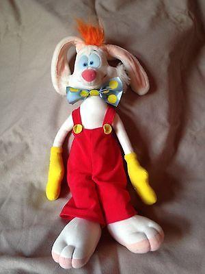 Vintage Disney Roger Rabbit 1988 Playskool Plush Stuffed