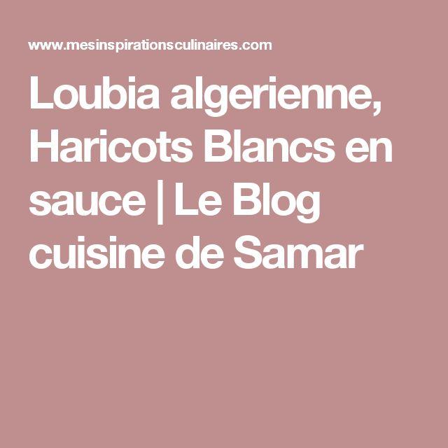 Les 25 meilleures id es de la cat gorie loubia sur - Cuisine algerienne facebook ...