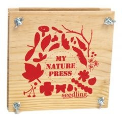 My Nature Press. Beautiful to collecting and preserving flowers, leaves and other garden goodies. $24.95