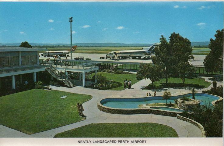 Perth Airport, 1970s
