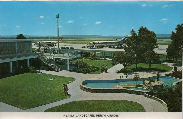 Perth Airport, early 1960s