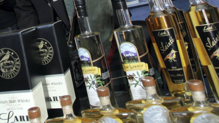 Track whisky and cider hotspots