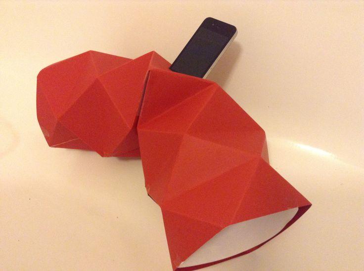 Paper acoustic speaker concept