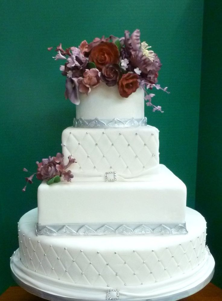Cake Art Md : 18 best Light Blue & Silver Wedding images on Pinterest ...