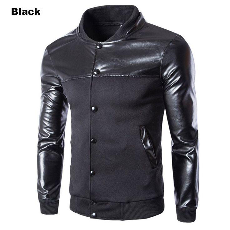 Single Breasted  Men Fleece Jacket