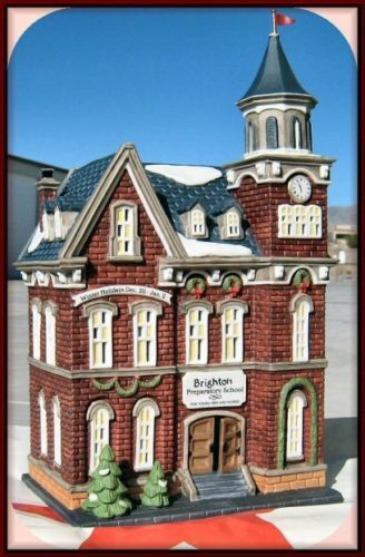 Brighton School NEW Department Dept. 56 Christmas In The City Village CIC D56