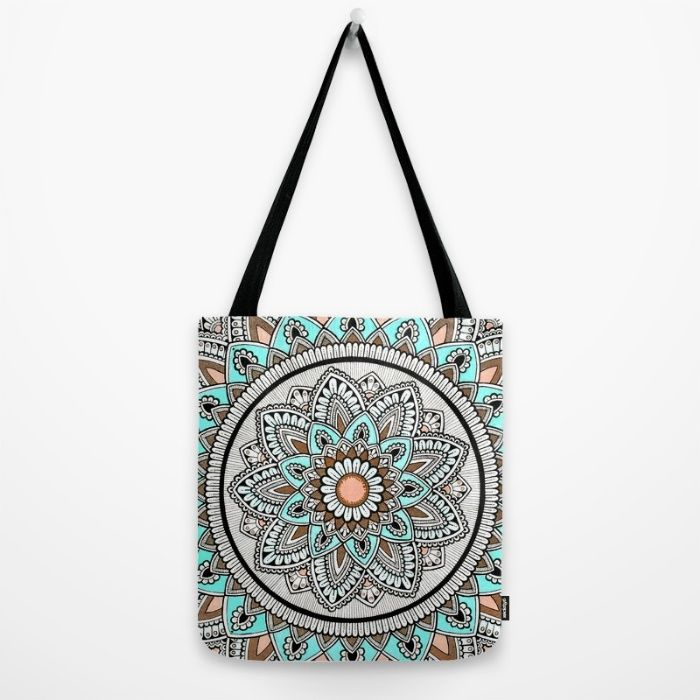 Beautiful Flower Tote Bag by Cosmic Revelations | Society6