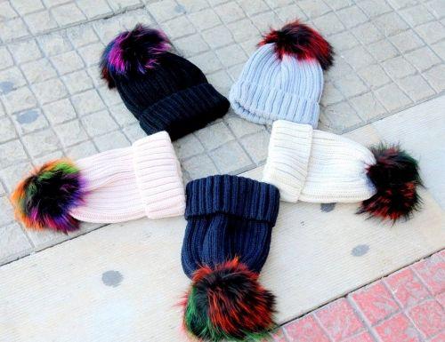 Γυναικεία σκουφάκια στολισμένα με γούνα  http://handmadecollectionqueens.com/Σκουφακια-με-γουνα  #fashion   #beanies   #accessories   #women   #storiesforqueens
