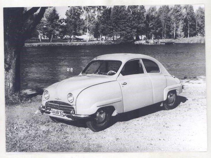 1954 Saab 92B ORIGINAL Factory Photograph wy6181
