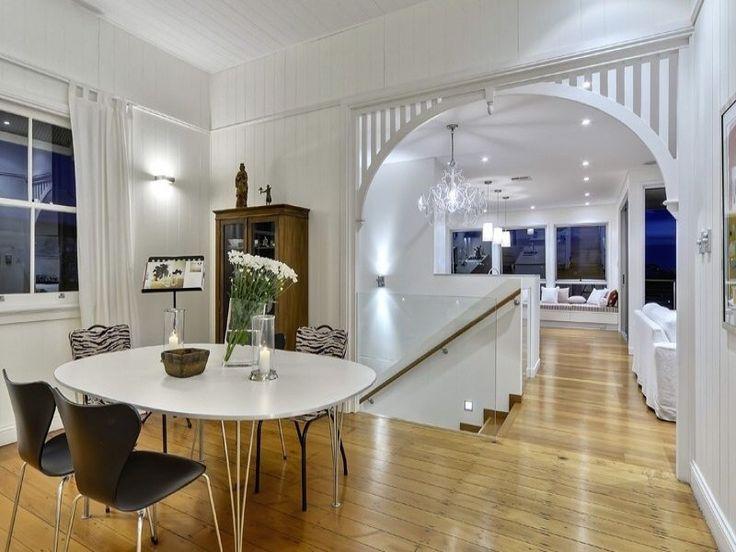 Beautiful interior renovation of a classic Queenslander